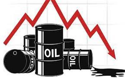 قیمت نفت یک دلار کاهش پیدا کرد