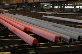 اولین محموله آرک معدنی ذوب اهن صادر شد